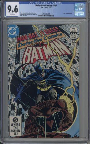 Detective Comics # 527 CGC 9.6