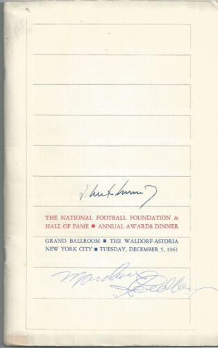 PRESIDENT JOHN F KENNEDY JFK SIGNED JSA CERTIFIED AUTHENTIC PROGRAM AUTOGRAPHED