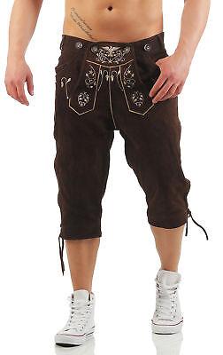 Kniebund Lederhose Herren Adler Braun Smartphone Tasche Trachten - Herren Kostüm Adler