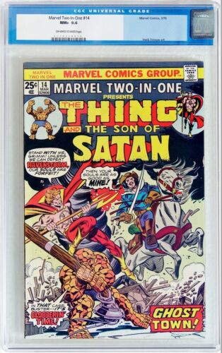 Marvel Two-In-One #14 (1976) CGC 9.6 NM+ Thing & Son of Satan Herb Trimpe art
