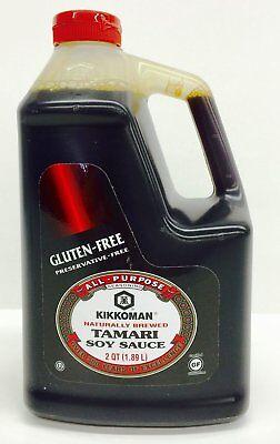 Kikkoman Tamari soy sauce gluten free 64 oz (Free Tamari Soy Sauce)