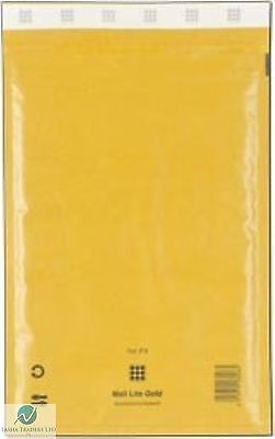 5 H5 H/5 Gold Brown 270x360 mm Padded Bubble Wrap Mail Lite Postal Bag Envelope