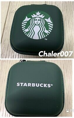 Tracking Exclusive Starbucks Thailand! 2021 Siren Logo Green Zipper Airpod Case