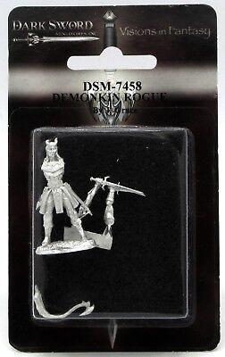 Dark Swords (Dark Sword DSM-7458 Demonkin Rogue Male Tiefling Thief Warrior Ranger)