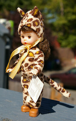 Madame Alexander Halloween Leopard Costume McDonald's Doll Blinking Eyes  2003