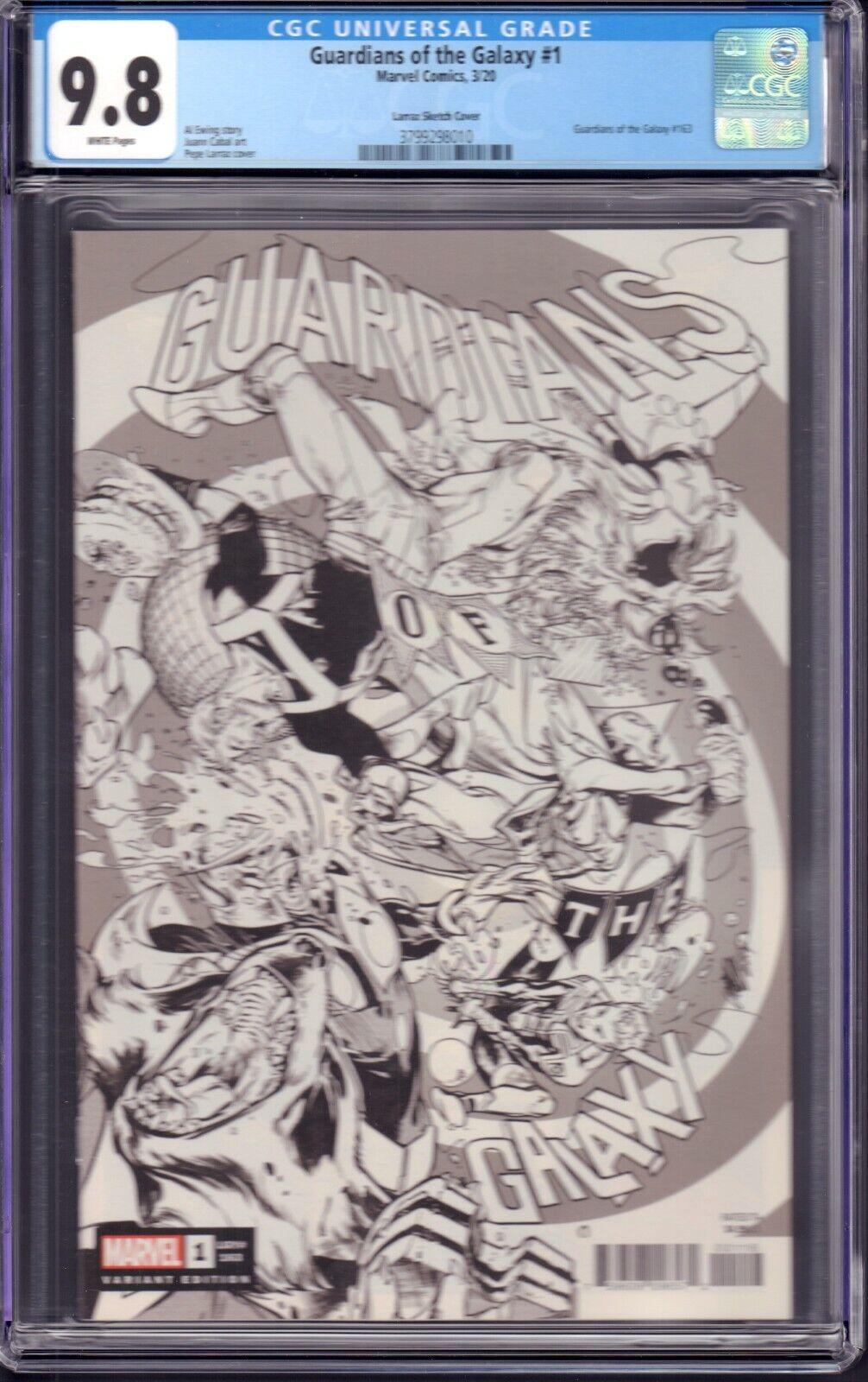 Guardians Of The Galaxy 1 Marvel Comics, 2020 CGC 9.8 Larraz Sketch Cover - $59.99