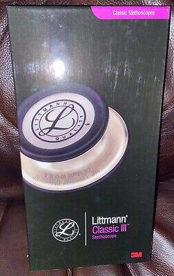 Genuine 3m 5622 Littmann Classic Iii Stethoscope 27 Navy Blue Tubing