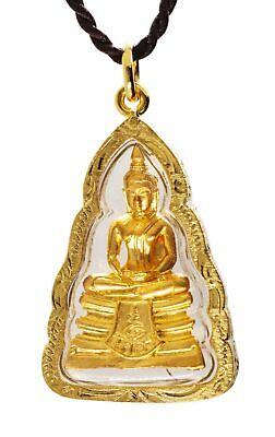 Vintage Buddhist talisman amulet Thai Thailand meditation prayer 3