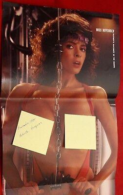 Replacement Playboy Centerfold November 1984 Roberta Vasquez Near Mint Condition
