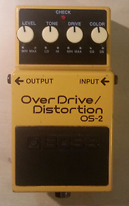 Boss OS-2 Overdrive/Distortion Effect Pedal