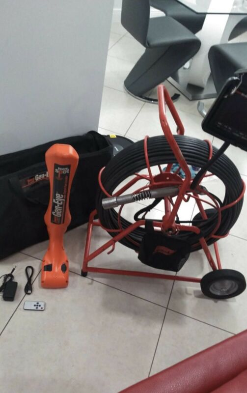 Gen-Eye 200' Sewer Inspection  Camera With Locator