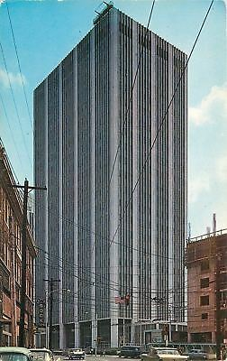 Atlanta Ga Georgia Power Building Since Replaced Book Store 1950S Cars Postcard