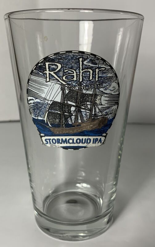 Rahr & Sons Brewing Company Stormcloud IPA Pint Beer Glass Fort Worth