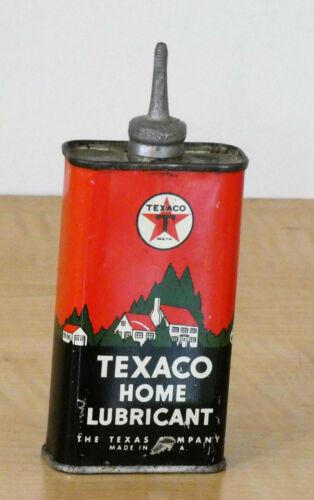 Vintage Texaco Home Lubricant Oil Can 4 oz. *EUC*