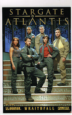 STARGATE ATLANTIS #1 WRAITHFALL AVATAR COMICS 2006 NM+ PHOTO COVER TV SERIES