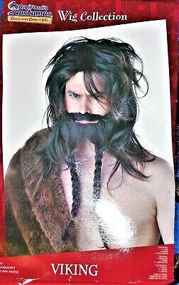 California Costumes Mens Viking Wig, Beard, and Mustache Set