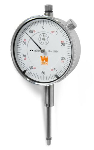 WEN 10702 1-Inch Precision Dial Indicator with .001-Inch Resolution