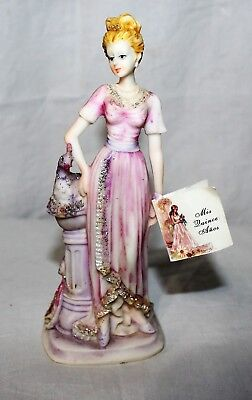 Mis Quince Anos Girl in Pink Glitter Dress Figurine 7
