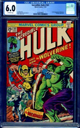 Incredible Hulk #181 CGC 6.0