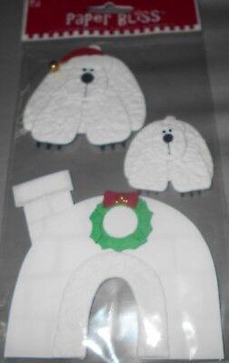 Jesse James Buttons Dress It Up ~ ARCTIC BABIES 5786 Igloo Polar Bear Seal Sew
