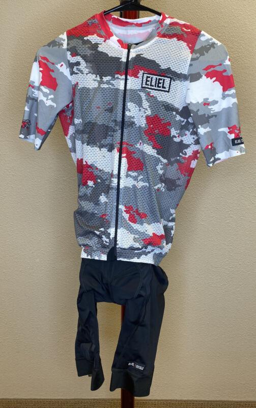 Eliel Diablo jersey and Lacuna Seca bibs - BRAND NEW!!! Medium/Medium
