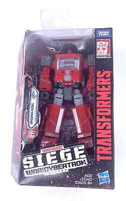 Transformers Generations Siege WFC War Cybertron W2 Deluxe Ironhide Autobot NIB