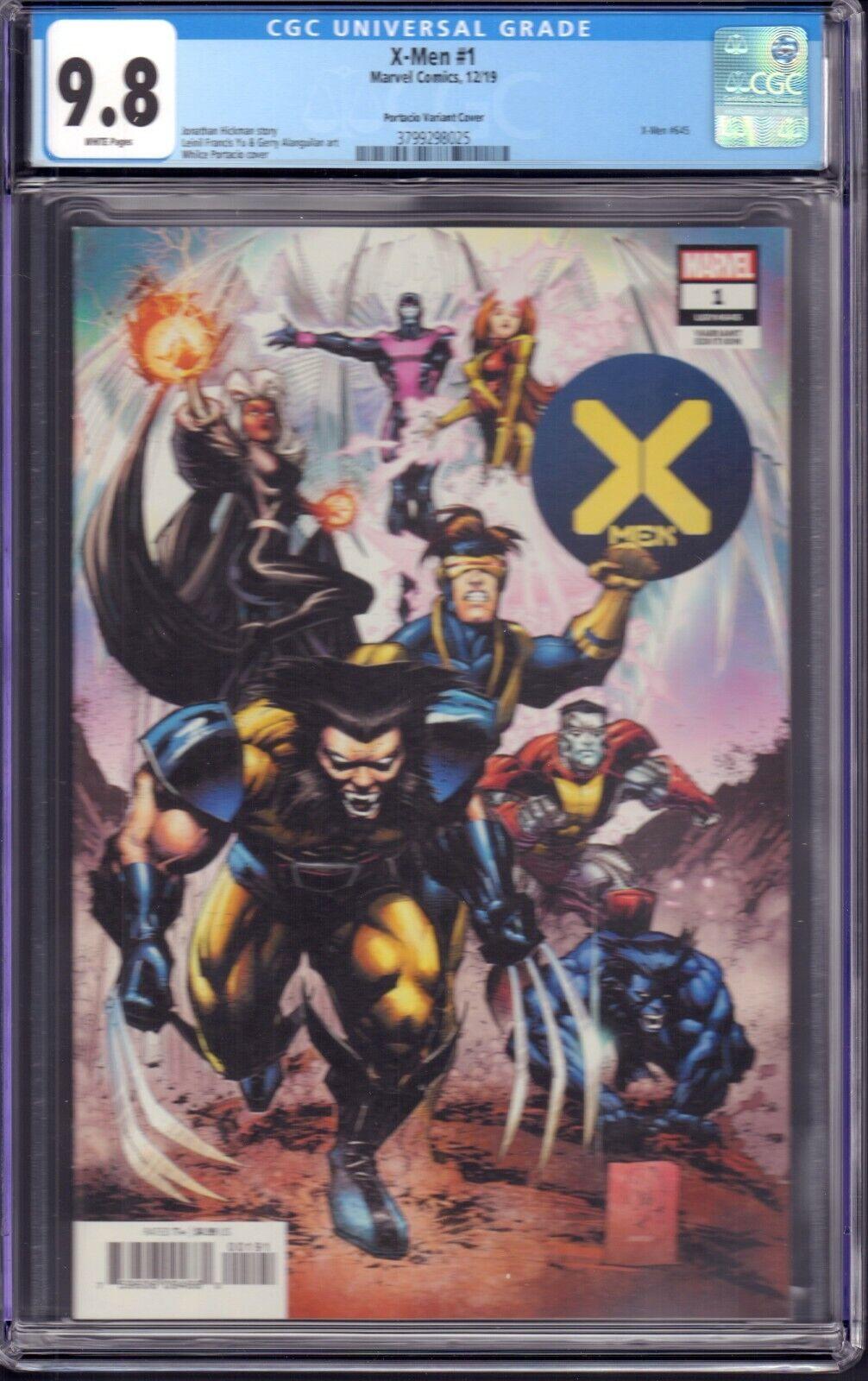 X-Men 1 Marvel Comics, 2019 CGC 9.8 Portacio Variant Cover - $44.99