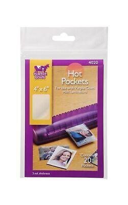 Purple Cows Darice 20 Piece Hot Pockets 4 By 6 4020 20-count 4 X 6 Inches