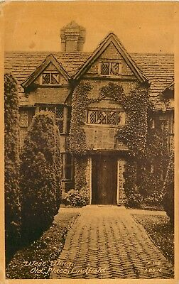 s09569 Old Place, Lindfield, Surrey, England postcard unposted