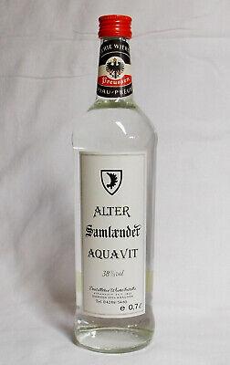 Alter Samländer Aquavit 38% vol. - 0,7 Liter - Destillerie Wiersbitzki