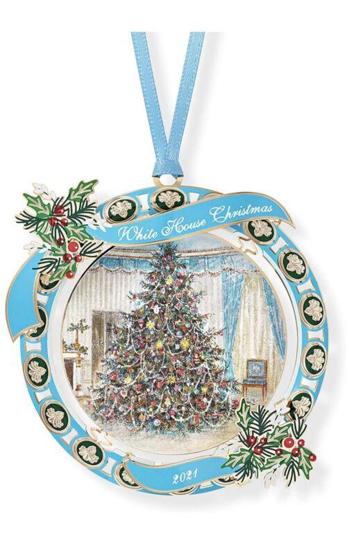 2021 White House Historical Association Christmas Ornament Lyndon B Johnson