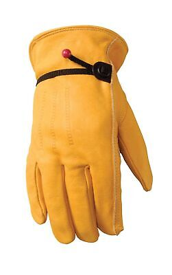 Wells Lamont 1132s Unlined Cowhide Full Leather Driver Glove Small