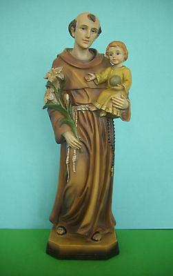 Heiliger Antonius von Padua WD01 ca. 4 cm  Schutzpatron Klosterarbeiten Polyst.