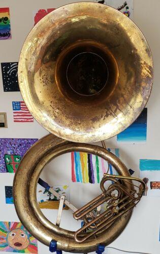 York Monster Bb 28 Inch Bell Gig Ready Sousaphone Tuba