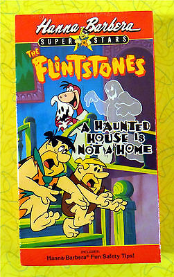 The Flintstones - A Haunted House Is Not a Home ~ New VHS Video  Scary Halloween