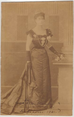 Mary Of Teck, Queen – Imperial Cabinet Photograph Signed