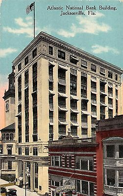 1915 Atlantic National Bank Building Jacksonville Fl Post Card