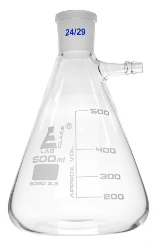 Buchner Filtering Flask, 500ml - 24/29 Socket Size Eisco Labs