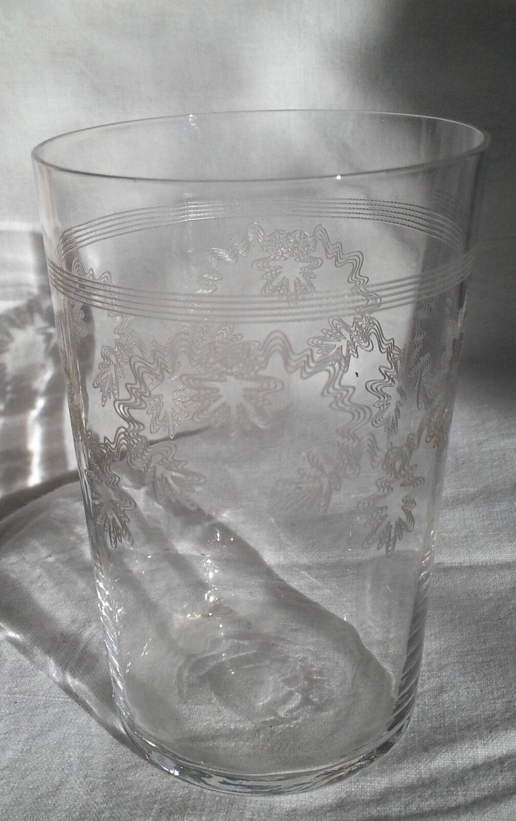 Ancien verre en cristal guilloch de baccarat daum saint louis eur 24 00 - Cristal de baccarat ancien ...