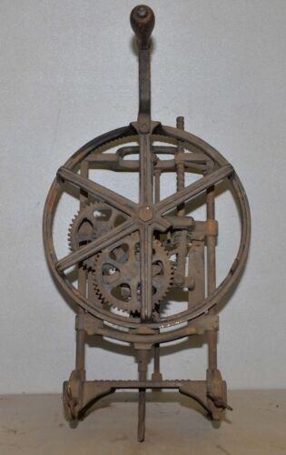 Rare antique Champion Lock mortiser J Leukart Mfg Pat. 1912 woodworking tool
