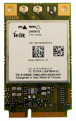Dell DW5813 4G LTE MDM WiFi Mobile Broadband Card 1MR85 ATT