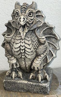 Windstone Editions Winged Dragon Gargoyle #950 Pena '94 ~Retired  HEAVY 7.5-lb