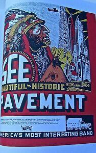 Pavement Mini Concert Poster Reprint 1996 Tour 14x10 Unsigned Offset Lithograph