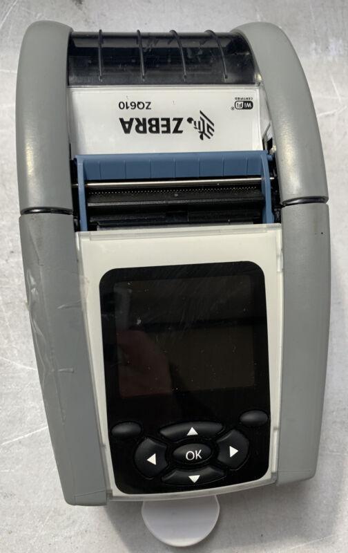Zebra ZQ610 Thermal Bluetooth Label Printer ZQ61-HUWA000-00 Battery
