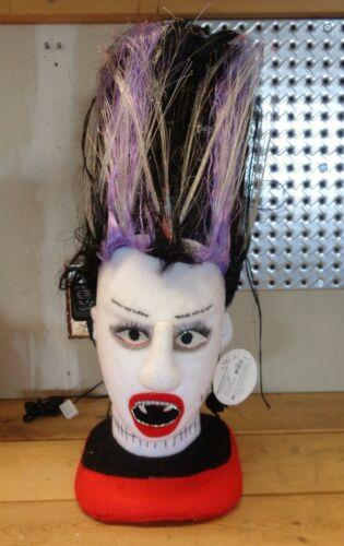 Department 56 2007 Bride of Frankenstein Halloween Fiber Optic Light
