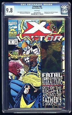 X-Factor #92 July 1993 Marvel Comics Wraparound Quesada W// Havok Hologram