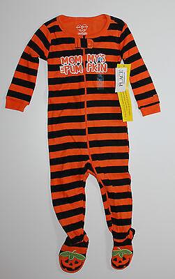 Nachtwäsche~Children Place~USA~74-80~Schlafanzug Füßen~Halloween~Einteiler