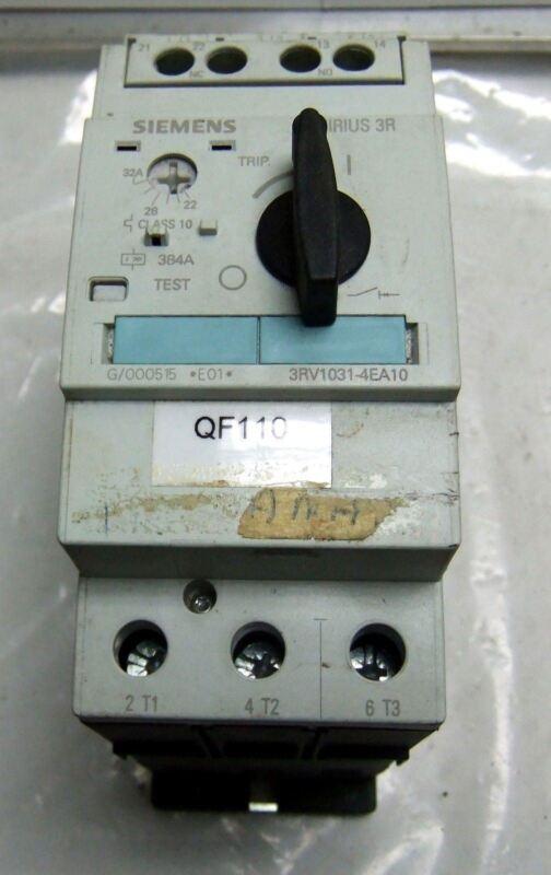 Siemens Motor Starter Protector 3RV1031-4EA10 22-32A 3P