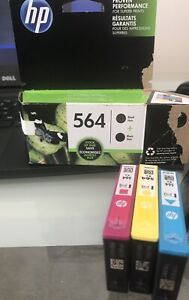 New INK cartridge black and colour Hp 564