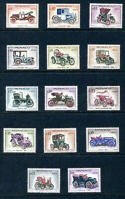 Monaco 1961 Unused(NH) Set #485-498